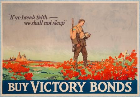 """In Flanders Fields"" poster (Frank Nicolet Lucien, 1918)"