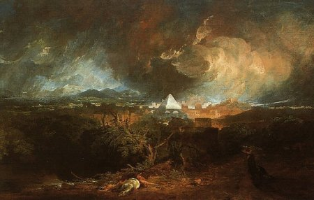 The Fifth plague of Egypt (Turner, 1800)