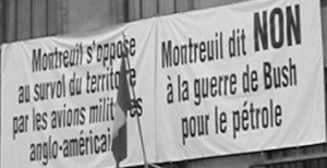 Montreuil says no to Bush\'s war