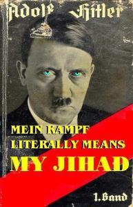 meinkampf MEANS MY JIHAD