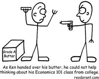 Guns for butter