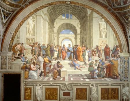 School of Athens (Sanzio, 1512)