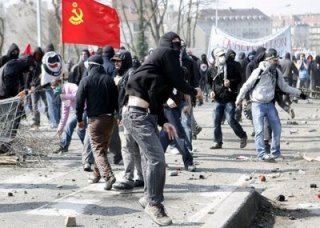 French rioting
