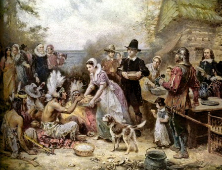 The first Thanksgiving (JLG Ferris)