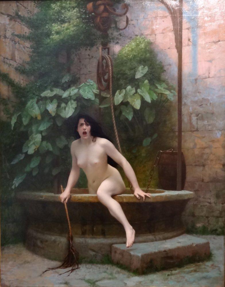 jeune homme nu assis au bord de la mer 1836 escort massage secret belgique