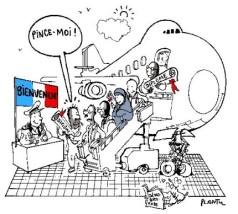 Plantu immigration_pince-moi
