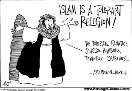 Islam is a tolerant religion