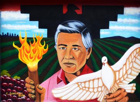 Cesar-Chavez-Mural