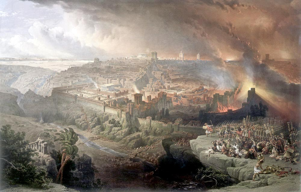 The Siege and Destruction of Jerusalem (David Roberts, 1850)