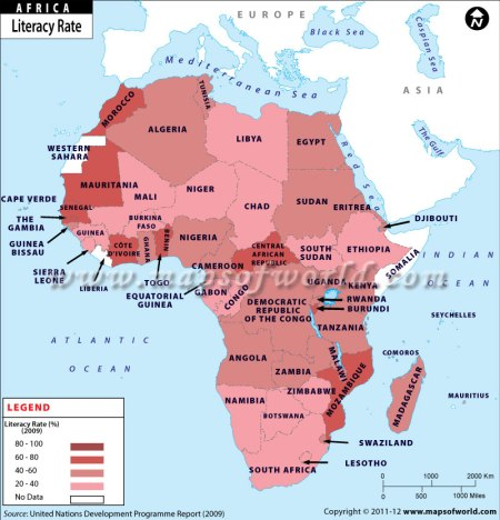 Africa-literacy-rate