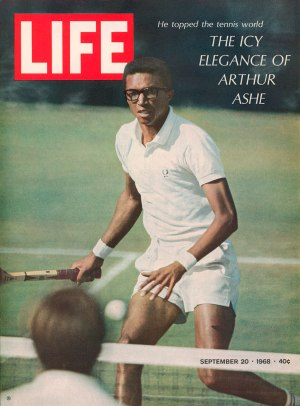 1355a5a7a3acc US Open 50e  Reviens, Arthur, ils sont devenus fous ! (Contrary to Ali or  Kaepernick, the Jackie Robinson of tennis stayed committed to respectful  dialogue ...