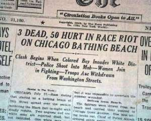 chicago-race-riot-starts-red-summer-1919-old-newspaper-