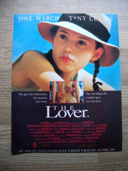 the-lover-film-advert-poster-ephemera-1992