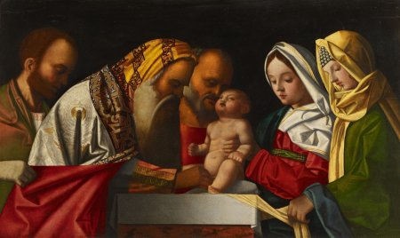 Circumcision of christ (Giovanni Bellini's studio, Venice, 16th cent.)