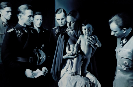 Epiphany I: Adoration of the Magi (Gottfried Helnwein, 1996)