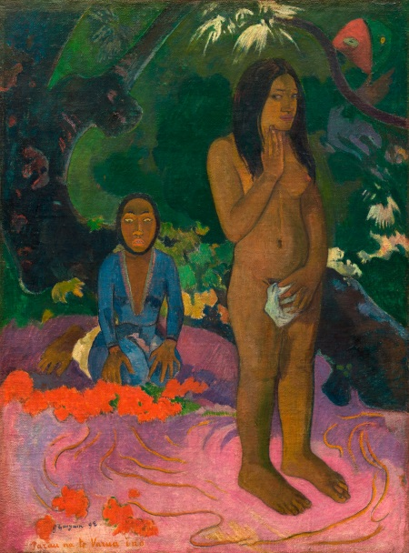 Parau na te Varua ino (Words of the Devil, Paul Gauguin, 1892)